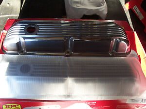 SB FORD ALUMINUM FINNED VALVE COVERS NEW IN BOX London Ontario image 4
