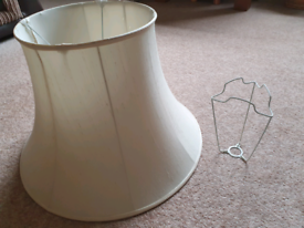 Large standard Lampshade and Riser