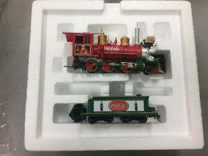 "BRADFORD EXCHANGE COCA-COLA Holiday Express"" Train Collection"