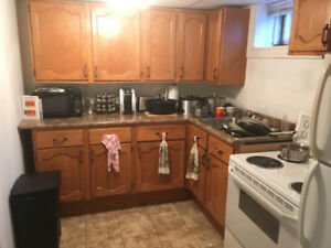 basement apt for rent $600  per mnth ALL INCL
