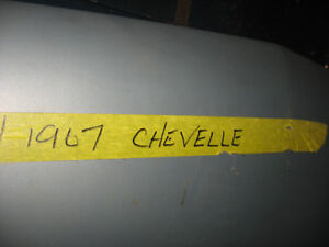 1966-67 Chevelle trunk lids, western, nice condition, sell trade London Ontario image 4