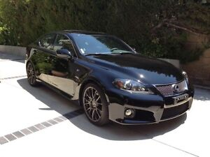 Lexus is-f 2012