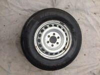 mercedes sprinter wheel and tyre