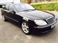 2005 Mercedes Benz S500 Black. Fully Loaded. Clean Example Swap P.x Welcome