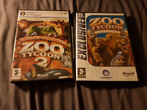 Zoo Tycoon complete 1 and 2 for pc