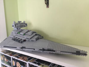 Lego Star Wars Imperial Star Destroyer set #75055