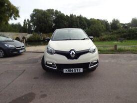 Renault Captur DYNAMIQUE S MEDIANAV DCI (black/cream) 2014