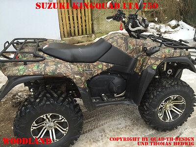 AMR RACING DEKOR KIT ATV SUZUKI KING QUAD LTA 450//500//700//750 WING CAMO B