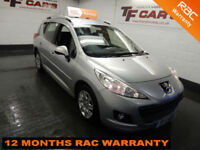 2011 61 Peugeot 207 SW ESTATE 1.6HDi 92 Active-£20 TAX! FINANCE FROM £19 P/W!