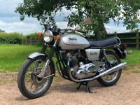 Norton Commando 1978 850cc MKIII Electric Start. With Matching Numbers