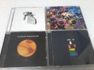 COLDPLAY 4CD's