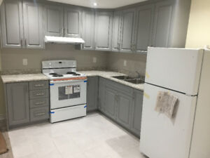 Brand New 2 BR Legal Basement Apartment