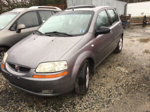 2006 Pontiac Wave, low mileage