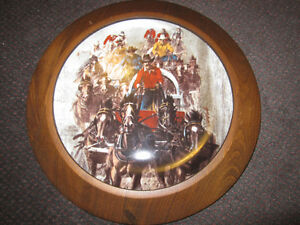 Calgary Stampede Collector Plate - The Chuckwagon Race - 1983