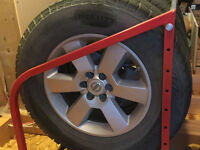 "17"" Nokian non-studded winter tires and wheels"