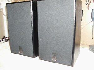 MIRAGE SPEAKERS WITH JAPANESE RECEIVER