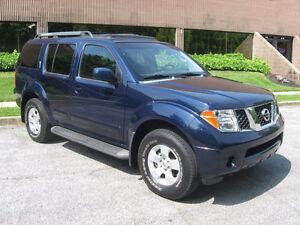 2007 Nissan Pathfinder SUV, Crossover
