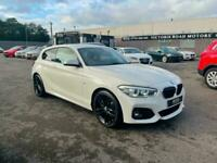 2018 BMW 1 Series 118i [1.5] M Sport 3dr [Nav/Servotronic] HATCHBACK Petrol Auto