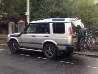 Swap Land Rover discovery td5 2000mdl for transit crew van