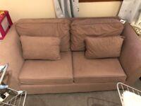 Mink metal frame double sofa bed