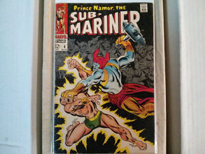 Prince Namor, The Sub-Mariner comic # 4 $10