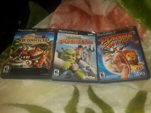 Harry Potter- Portal Runner -Shrek Super slam jeux playstation 2