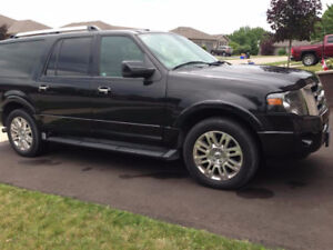2011 Ford Expedition Max, All leather, seats 8, power everything