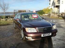 2000 Lexus LS 400 4.0 AUTOMATIC. Only 99,000 miles.
