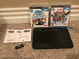 uDraw Games for PS3 and Gametablet