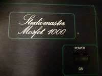 Power Amplifier Mosfet 1000  puissance pure de 1000 W RMS