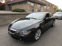 2004 BMW 645CI COUPE ☆ *FULLY LOADED,LEATHER,SUNROOF,CERTIFIED*