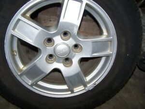 Jeep Cherokee 5 x 127 rims with tires