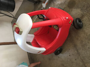 Cozy coupe fire truck car