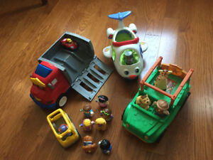 Fisher-Price Little People Collection - 5 vehicles/12 people