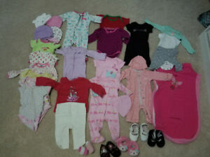 Baby girls clothes size nb-3 months