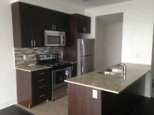 Spacious 824 SQ Brand new 1 Bedroom plus Den and Solarium,2 WR's