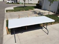 Rent Our Tables For Your Garage Sale!! FREE Delivery!!