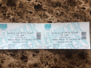 Pair of ZZ Top tickets for $100