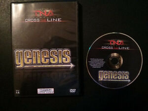 3 TNA Wrestling DVDs for $10