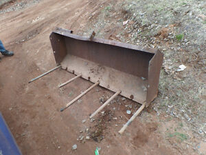 manure bucket for tractor