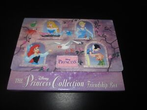 """""""DISNEY"""" THE PRINCESS COLLECTION FRIENDSHIP BOX - $6.00 for SET"""