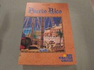 Puerto Rico 2002 English Edition by Rio Grande Games
