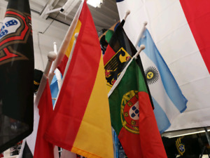 Car National team flags for sale