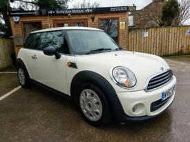 62 REG MINI 1.6TD ONE D IN CREAM *ZERO ROAD TAX*