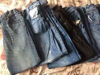 Boys jeans & joggers 10-11 yrs