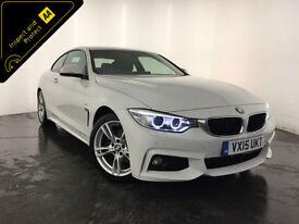 2015 BMW 420D M SPORT AUTO DIESEL COUPE 1 OWNER SERVICE HISTORY FINANCE PX
