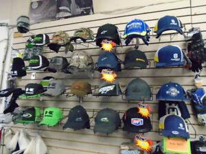 COME CHECK OUT HATS AND GLOVES ONLY @RIVERCITY CYCLE