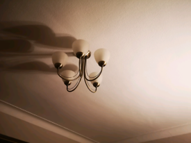 Ceilings and 2 walls lights matching