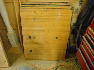 Maple Bowling Alley 32 x 40 Approx - 6 Pieces - $75 Each OBO