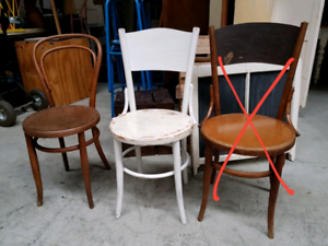 Vintage Bentwood Chairs Chermside Brisbane North East Preview